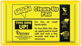 Clean-up pad