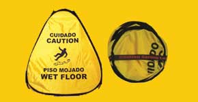 "16"" Yellow Wet Floor Cone"