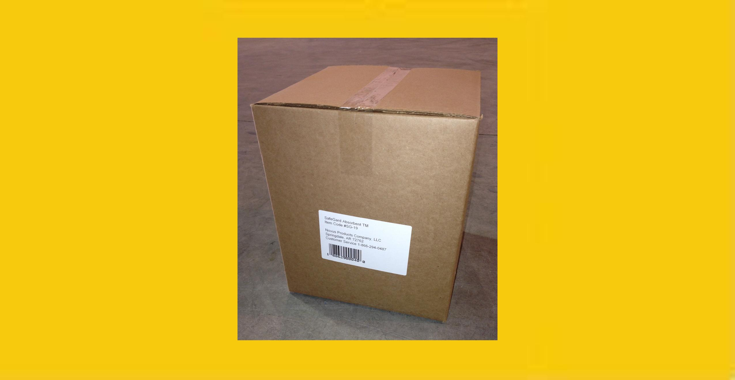 SafeGard Absorbent Universal - 1 Cubic Bag in Box