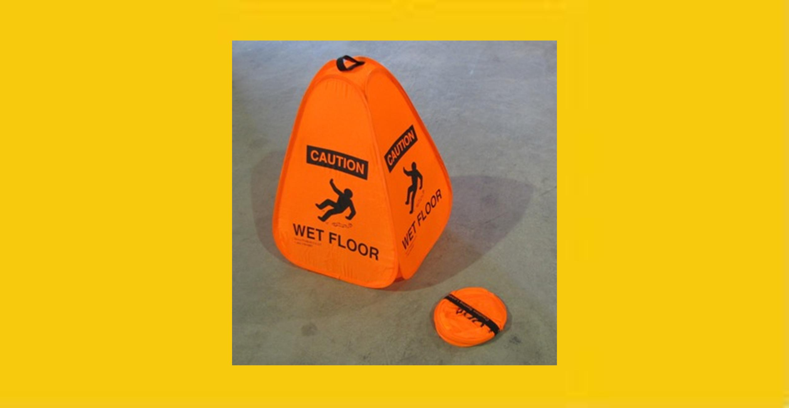 "18"" Orange Pocket Cone"